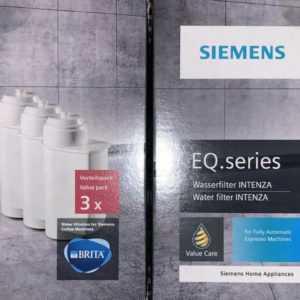 2 Packungen Orig.Siemens TZ70033 Wasserfilter Brita Intenza für ...