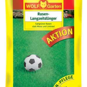 Wolf Garten L-PF 450 Rasen-Langzeitdünger Rasendünger Wirkzeit:bis zu 3 Mon.