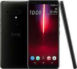 """HTC U12+ Titanium Black 64GB LTE Android Smartphone 6"""" Display 16 Megapixel"""