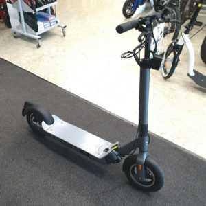 """Miniscooter E-Roller EGRET TEN GRAU 10"""" V4 48V 500W Motor mit ABE 20 Km/h Licht"""