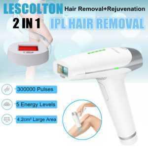 LESCOLTON Laser IPL dauerhafte Haar Entfernung Maschinenkörper Haut Epilierer