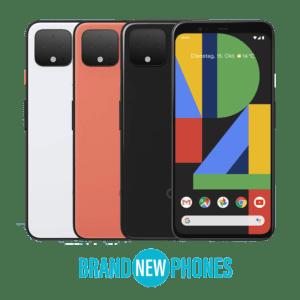 Google Pixel 4 OHNE SIMLOCK DUAL SIM ESIM OVP NEU *NEUWARE*