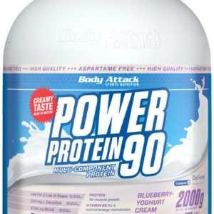 2,0 kg Body Attack Power Protein 90 - hochwertiges Mehrkomponenten-Eiweiß