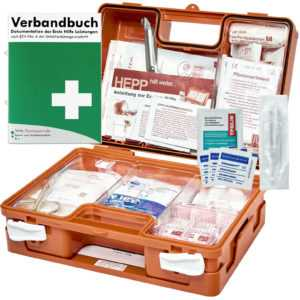 Erste Hilfe Kasten DIN/EN 13157 für BÜRO & BETRIEBE + DIN/EN 13164 für KFZ