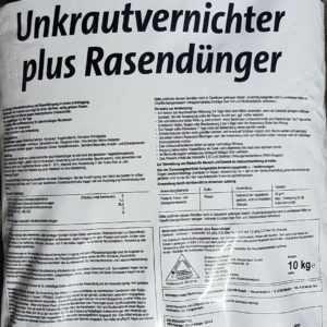 Beckmann UV Rasendünger mit Unkrautvernichter NPK Langzeitdünger 10 Kg