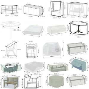 Gartenmöbel Schutzhüllen Abdeckung Hülle Sitzgruppe Schutzplane