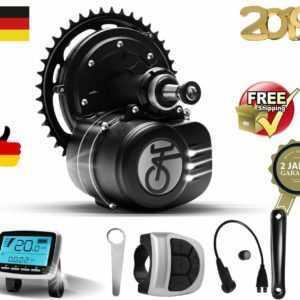 Tongsheng TSDZ2 Mittelmotor 250W E-Bike Mittlerer Antriebsmotor Fahrradmotor DE