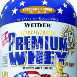 Weider Premium Whey 2,3Kg Dose (21,26€/Kg) Protein BCAA Eiweiß Shake %Ab 2 Dosen