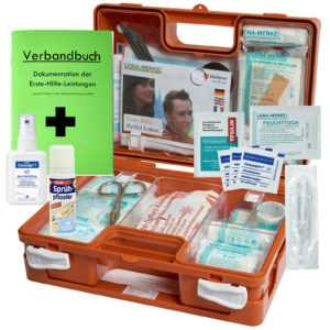 Erste-Hilfe-Koffer M1 für Betriebe DIN 13157 INKL. Desinfektion