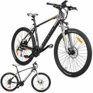 Hecht Grimis Elektro Mountainbike Elektrofahrrad E-Bike E-MTB Fahrrad Li-Ion 36V
