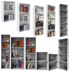 Bücherregal Wandregal Regal Standregal Aufbewahrung Schrank Raumteiler Fächer