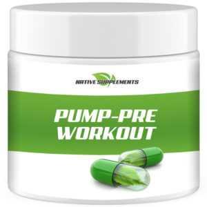 PUMP PRE WORKOUT - Hardcore Testosteron Booster / Aminosäuren Bcaa Muskelaufbau