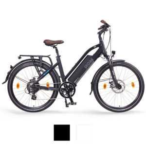 "NCM Milano 26"" - 28"" Trekking E-Bike, 48V 13Ah 624Wh, weiß, schwarz"