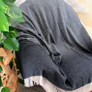Wollplaid Tagesdecke Sofadecke Plaid Überwurf Wolldecke Decke