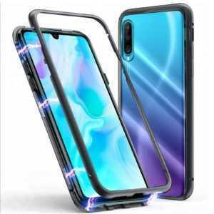 Magnet Bumper Case Für Huawei P30 Lite Pro Handy Hülle Glas MetaLL Schutz Hülle