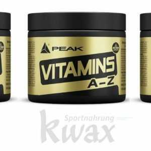 (49,14 €/Kg) Triplepack Peak Vitamins A/Z 3 x 180 Tabletten