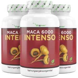 200 - 600 Maca 6000mg 100% Maca Wurzel Extrakt 10:1 Testosterone Potenz Booster