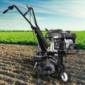 BRAST Benzin Ackerfräse Motorhacke Gartenfräse Bodenfräse Selbstantrieb AF5000