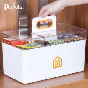Medizinbox Erste Hilfe Box Hausapotheke Medikamenten Aufbewahrung Arzneikoffer