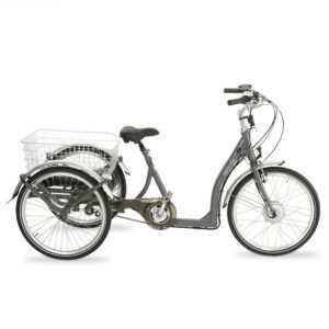 Elektro-Dreirad Pedelec für Senioren/ Erwachsene Fahrrad mit Motorunterstützung