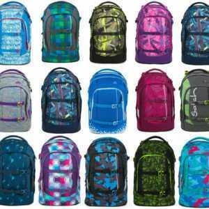 Satch Pack Rucksack 30L Schulrucksack mit Zubehör Auswahl