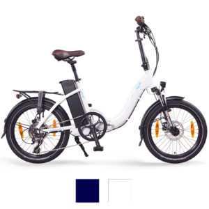 """NCM Paris+ 20"""" E-Faltrad, E-Bike, Klapprad 36V 19Ah 684Wh, ebike weiß"""