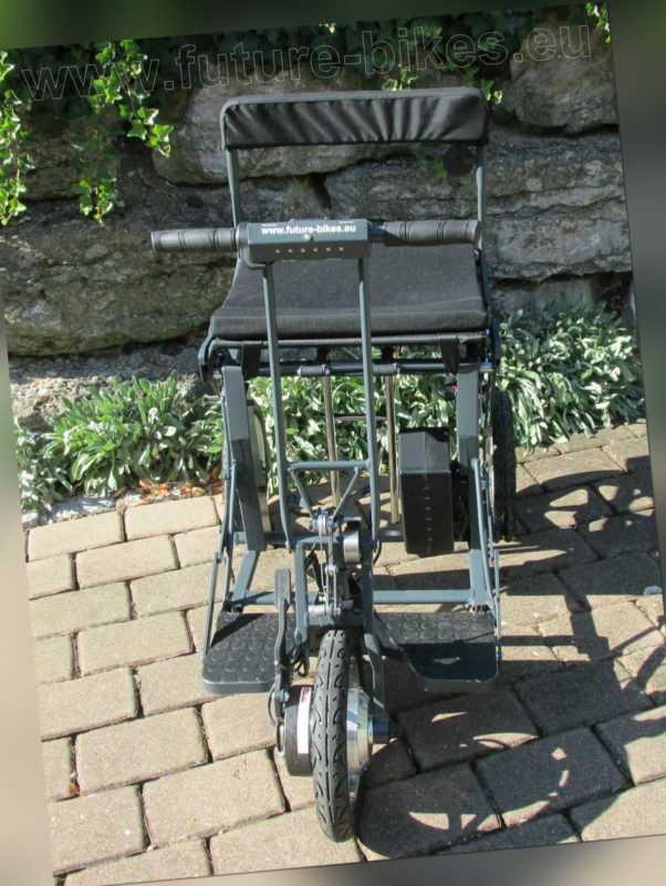 E-Scooter Di Blasi R30 mit Lithium-Akku 3-6 Kmh kleiner Wendekreis transportabel