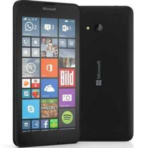 Microsoft Lumia 640 LTE Black Schwarz RM-1072 Single Sim Windows...