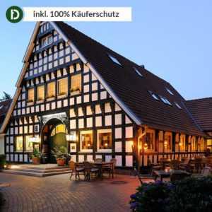 4 Tage Luxus-Urlaub in Dinklage im Vila Vita Burg-Hotel mit Frühstück und Therme