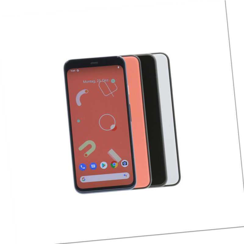 Google Pixel 4 / 64GB Schwarz Weiß Orange / eBay Garantie / Händler DE / Wie Neu