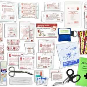 Komplett-Set 1.-Hilfe KITA PLUS 4 DIN 13157 inkl. Sprühpflaster