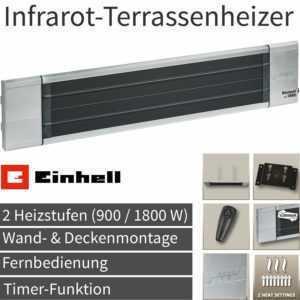 Einhell Elektro Infrarot Heizstrahler Terrassen Heizer Wärme Strahler Heizung !!