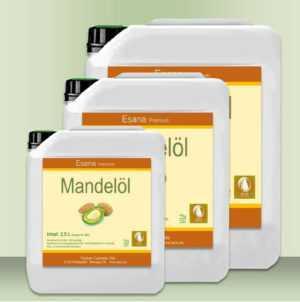 Mandelöl süß 100% rein in med. Qualität  2,5 L, 5 L, 10 Liter