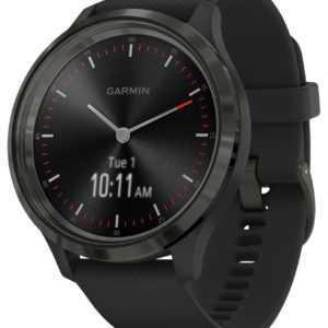 GARMIN vivomove 3 Smartwatch Silikonband Schwarz/Schiefergrau 010-02239-01