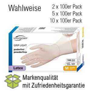 Einmalhandschuhe Einweghandschuhe Schutz Latexhandschuhe 200 - 1000St. S,M,LXL