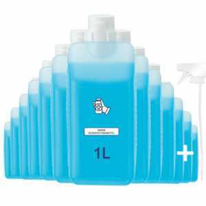 Desinfektionsmittel Händedesinfektionsmittel Hand Schnelldesinfektion 1L 1 LITER