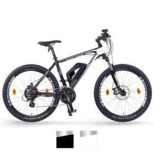 NCM Prague E-MTB, Mountainbike, E-Bike 36V 13Ah 468Wh Akku, matt schwarz