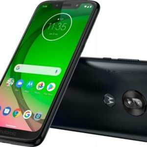 Motorola Moto G7 Play 32GB Android 13 MP Mobile Phone Black Camera...