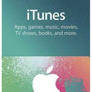 Apple iTunes $50 Dollar US Gift Card - 50 USD Geschenkkarte für USA App Store