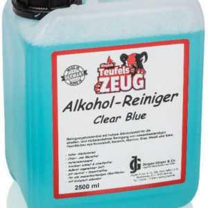 Teufelszeug 70% Alkoholreiniger mit BIO-Ethanol Clear Blue 10 L