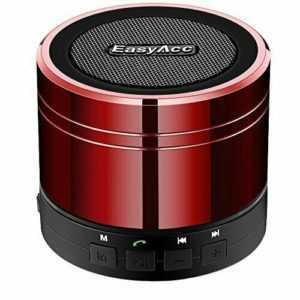 EasyAcc Mini Canon Portable Bluetooth Lautsprecher Rot