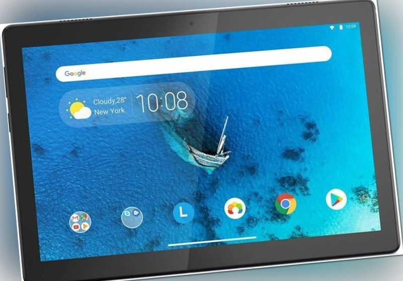 LENOVO Tab M10 HD Tablet 10.1 Zoll 32GB 2GB Schwarz Android 9 Quad-Core NEU OVP