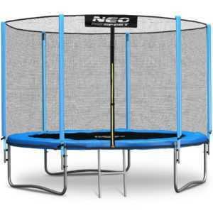 Gartentrampolin Kindertrampolin mit Sicherheitsnetz Leiter Neo-Sport 183 cm 6FT