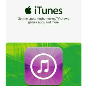iTunes Gift Card $50 US Dollar - 50 USD APPLE Store USA Guthaben Prepaid Code
