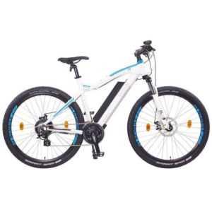 "NCM Moscow 29"" E-MTB, Mountainbike, E-Bike, 48V 13Ah 624Wh Akku, matt weiß"