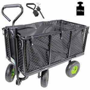 TrutzHolm® Bollerwagen Handwagen Gartenwagen Transportwagen 550 kg