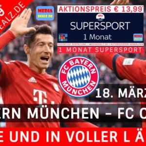 1M SKY SUPERSPORT ⚽ DEN FC BAYERN IN VOLLER LÄNGE SPIELEN SEHEN! ⚡ NUR €13,99*
