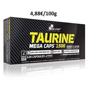 Olimp Taurine Mega Caps 1500 - 120 Kapseln