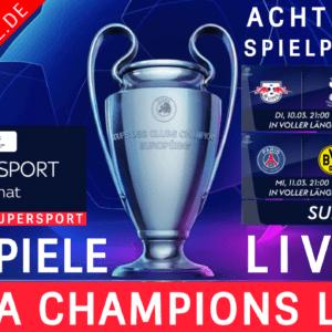 1 MONAT SKY SUPERSPORT TICKET CHAMPIONS LEAGUE ACHTELFINALE LIVE ⚡ NUR € 13,99*