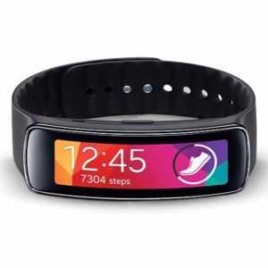 Samsung Gear Fit SM-R350 Black R350 Smartwatch Fitness Tracker Uhr NEU